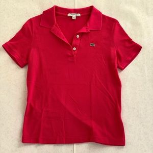 Lacoste Polo Hot Pink